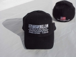 Black Flex Fit Cap - Product Image